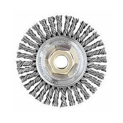 WEI804-13135 - Weiler - Dualife® Stringer Bead Twist Knot Wire Wheels