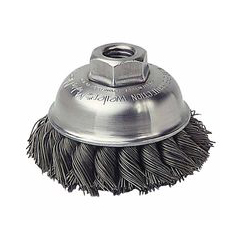 WEI804-13150 - WeilerGeneral-Duty Knot Wire Cup Brushes