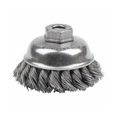 WEI804-13153 - WeilerGeneral-Duty Knot Wire Cup Brushes