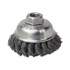 WEI804-13156 - WeilerGeneral-Duty Knot Wire Cup Brushes