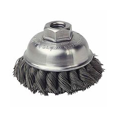 WEI804-13163 - WeilerGeneral-Duty Knot Wire Cup Brushes