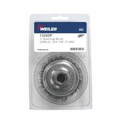 WEI804-13245P - WeilerCrimped Wire Cup Brushes