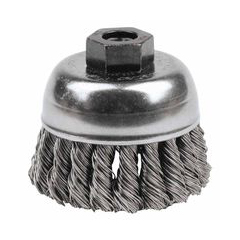 WEI804-13253 - WeilerGeneral-Duty Knot Wire Cup Brushes