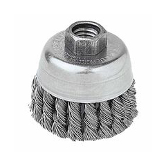 WEI804-13258 - WeilerGeneral-Duty Knot Wire Cup Brushes