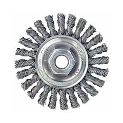 WEI804-13276 - WeilerDualife® Cable Twist Knot Wire Wheels