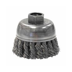 WEI804-13281 - WeilerGeneral-Duty Knot Wire Cup Brushes