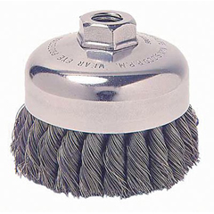 WEI804-13285 - WeilerGeneral-Duty Knot Wire Cup Brushes