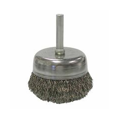 WEI804-14306 - WeilerStem-Mounted Crimped Wire Cup Brushes