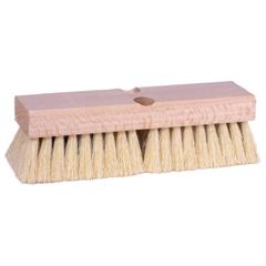 WEI804-44028 - WeilerDeck Scrub Brushes, 10 In Hardwood Block, 2 In Trim L, Tampico Fill