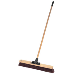 WEI804-44604 - Weiler24 Pro-Flex Maroon Polypropylene Sweep With 60 Wood H