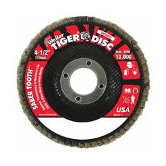 WEI804-50101 - WeilerSaber Tooth™ Ceramic Flap Discs