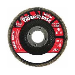 WEI804-50102 - Weiler - Saber Tooth™ Ceramic Flap Discs