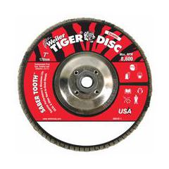 WEI804-50115 - WeilerSaber Tooth™ Ceramic Flap Discs