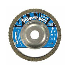 WEI804-50503 - WeilerTiger Disc™ Angled Style Flap Discs