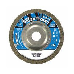 WEI804-50504 - WeilerTiger Disc™ Angled Style Flap Discs