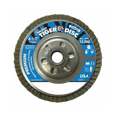 WEI804-50509 - WeilerTiger Disc™ Angled Style Flap Discs