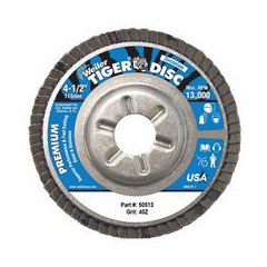 WEI804-50513 - WeilerTiger Disc™ Angled Style Flap Discs