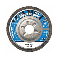 WEI804-50514 - WeilerTiger Disc™ Angled Style Flap Discs