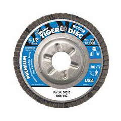 WEI804-50515 - WeilerTiger Disc™ Angled Style Flap Discs