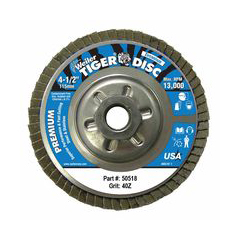 WEI804-50518 - WeilerTiger Disc™ Angled Style Flap Discs