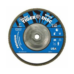 WEI804-50542 - WeilerTiger Disc™ Angled Style Flap Discs