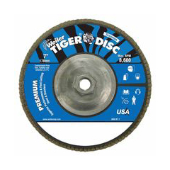 WEI804-50543 - WeilerTiger Disc™ Angled Style Flap Discs