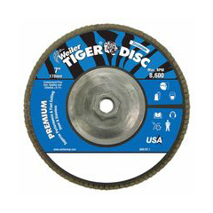 WEI804-50544 - WeilerTiger Disc™ Angled Style Flap Discs