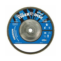 WEI804-50545 - WeilerTiger Disc™ Angled Style Flap Discs