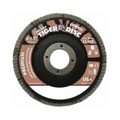 WEI804-50562 - WeilerTiger Disc™ Angled Style Flap Discs