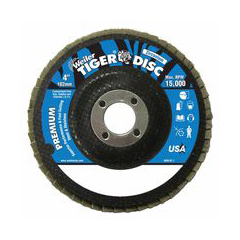WEI804-50594 - WeilerTiger Disc™ Angled Style Flap Discs