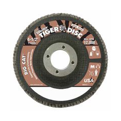 WEI804-50763 - WeilerBig Cat® High Density Flat Style Flap Discs