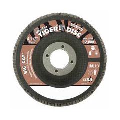 WEI804-50764 - WeilerBig Cat® High Density Flat Style Flap Discs