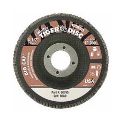 WEI804-50765 - WeilerBig Cat® High Density Flat Style Flap Discs