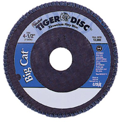 WEI804-50804 - WeilerBig Cat® High Density Flat Style Flap Discs