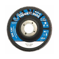 WEI804-50805 - WeilerBig Cat® High Density Flat Style Flap Discs