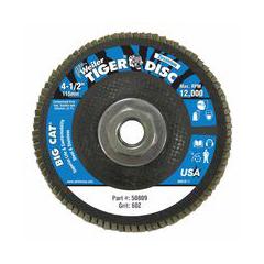 WEI804-50809 - WeilerBig Cat® High Density Flat Style Flap Discs
