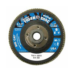 WEI804-50810 - WeilerBig Cat® High Density Flat Style Flap Discs