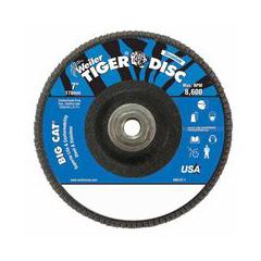 WEI804-50843 - WeilerBig Cat® High Density Flat Style Flap Discs