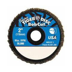 WEI804-50935 - WeilerBobcat™ Flat Style Flap Discs