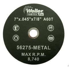WEI804-56275 - Weiler - Vortec Pro™ Type 1 Thin Cutting Wheels
