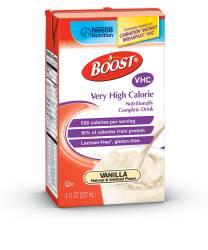 MON82662601 - Nestle Healthcare NutritionOral Supplement BOOST® VHC Vanilla 8 oz.