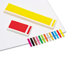 RTG20205 - Redi-Tag® Removable/Reusable Small Rectangular Page Flags