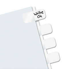 RTG31000 - Redi-Tag® Easy-To-Read Side-Mount Self-Stick Plastic Index Tabs