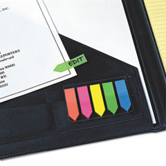 RTG32118 - Redi-Tag® SeeNotes® Transparent Film Arrow Flags with Clip-On Holder