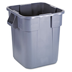 RCP352600GY - Rubbermaid Commercial® Square Brute® Container