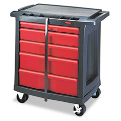RCP773488 - Rubbermaid® Commercial Five-Drawer Mobile Workcenter