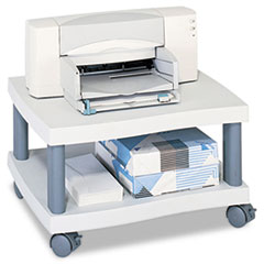SAF1861GR - Safco® Wave Under Desk Printer Stand, 1-Shelf