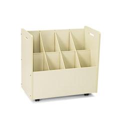 SAF3045 - Safco® Laminate Mobile Roll Files
