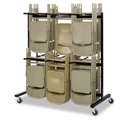 SAF4199BL - Safco® Two-Tier Chair Cart