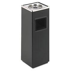 SAF9696BL - Safco® Square Ash N Trash Sandless Urn